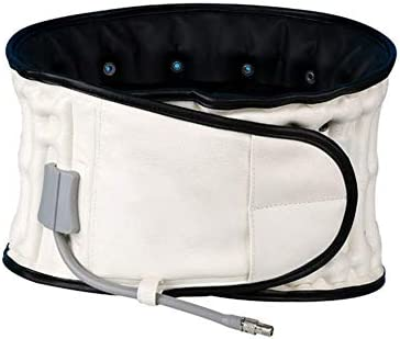 """標準的な減圧バックベルト脊椎エアトラクションベルトバックブレースバック痛み腰部サポートウエスト(24.93""""-47.24"""")ホワイト"""