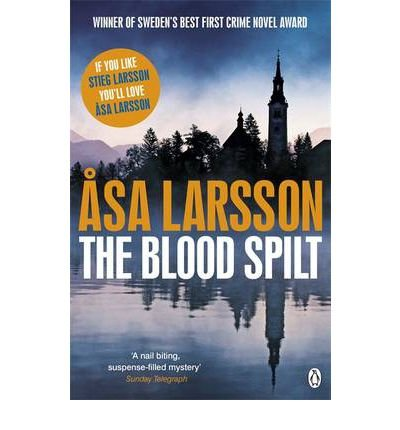 [ THE BLOOD SPILT BY LARSSON, ASA](AUTHOR)PAPERBACK