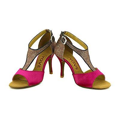 baile Blanco Amarillo Negro Personalizables Rojo Personalizado Morado de Zapatos Salsa Rosa Azul Purple Tacón Latino xf1aEqw
