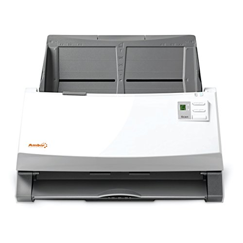 Ambir ImageScan Pro 930u (DS930-AS) High-Speed Document Scanner with UltraSonic Misfeed Detection by Ambir (Image #1)