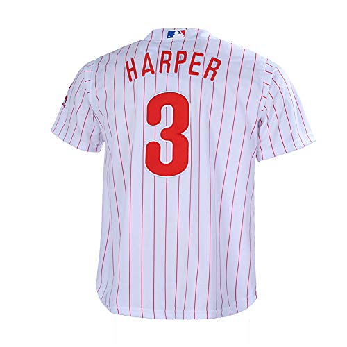 c73f78eaeb976 Bryce Harper Philadelphia Phillies Shirts at Amazon.com. Amazon.com.  Outerstuff Youth 8-20 Bryce Harper Philadelphia Phillies Home Base Player  Jersey (White ...
