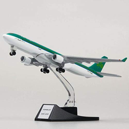 Aquaman Store Diecasts & Toy Vehicles - Collectible 13cm Airplane Model Toys Ireland Airlines Airbus 330 Aircraft Model diecast Plastic Alloy Plane Gifts for Kids 1 PCs