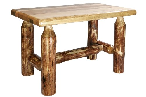 Montana Woodworks MWGCFSB Glacier Country Collection Ottoman
