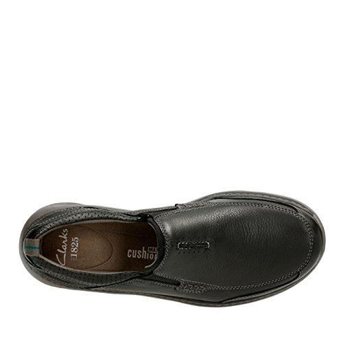 Clarks Heren Charton Stap Slip-on Loafer Zwart Leer