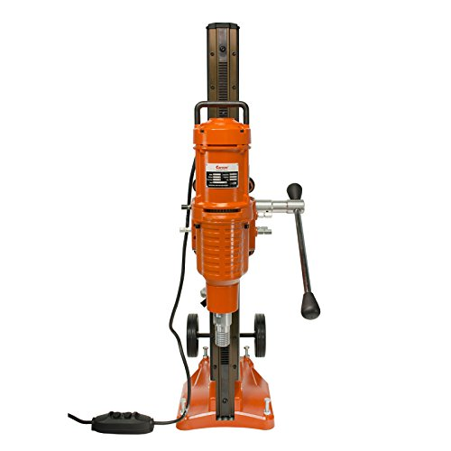 Cayken 10'' Diamond Core Drill Rig with 580F Adjustable Angle Vacuum Plate Stand by CAYKEN