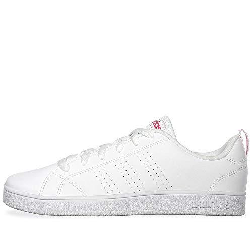 Adidas VS Advantage Clean BB9976, Tenis para Niña, color Blanco, talla 23