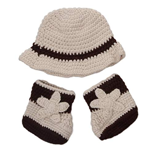 Newborn Baby Girl/Boy Crochet Knit Costume Photography Prop