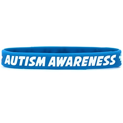 One Autism Awareness Wristbands