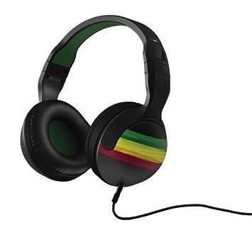 skullcandy hesh over ear wired headphones rasta amazon co skullcandy hesh 2 0 over ear wired headphones rasta