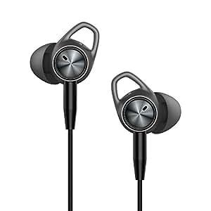 HENXUN Wireless Cell PhoneHeadset Wireless Sport Earphone In Ear Black