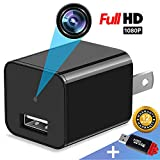 Spy Camera Charger - Mini Hidden Camera - HD 1080P - USB Charger Camera - Motion Detection - Hidden Spy Camera - Hidden Nanny Cam - Hidden Spy Cam - Surveillance Camera Full HD - No Wi-Fi Needed