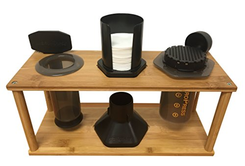 Java Barrel Bamboo Caddy for Aeropress Coffee Maker by Java Barrel (Image #2)