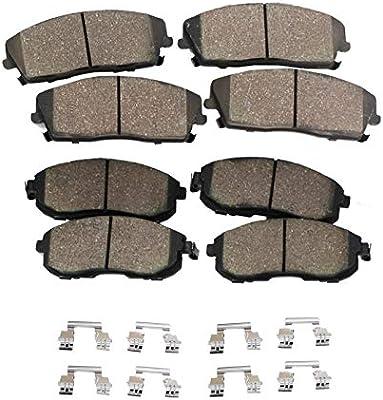 For 2007-2015 Ford,Lincoln,Mazda Edge,MKX,CX-7,CX-9 Rear Ceramic Brake Pads
