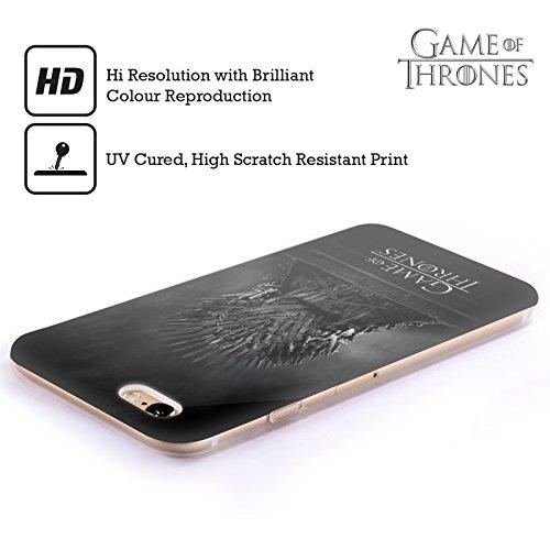 Officiel HBO Game Of Thrones Trône De Fer Art Clé Étui Coque en Gel molle pour Apple iPhone 6 / 6s