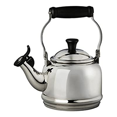Le Creuset Demi 1.25-qt. Stainless Steel Whistling Teakettle - Stainless Steel