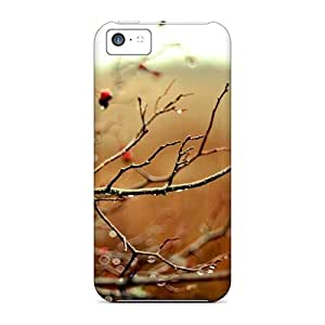 Awesome Cases Covers/iphone 5c Defender Cases Covers(wet Branches)