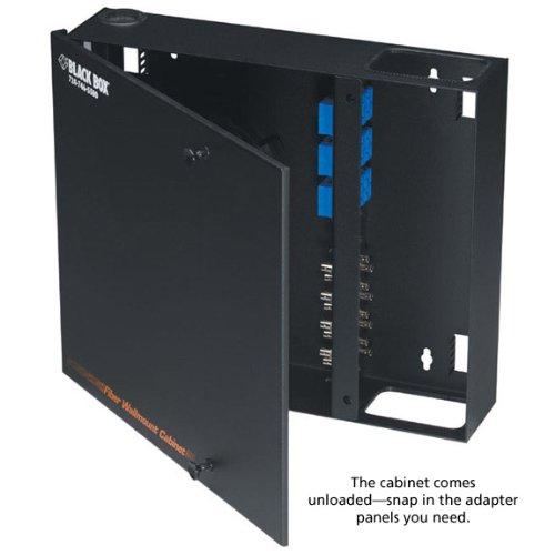 Fiber Wall Mount Enclosure (Black Box Wallmount Fiber Enclosure Non-Locking, 4-Slot)