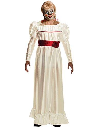 Annabelle Horror Costume, White, (Annabelle For Halloween)