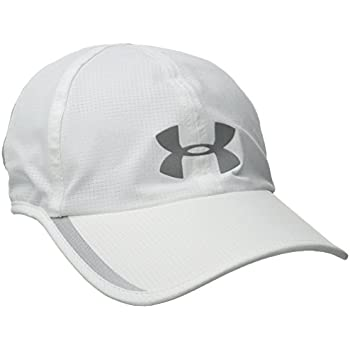 low priced 69370 6d716 Under Armour Men s Shadow ArmourVent Cap, White (100) Silver, One Size