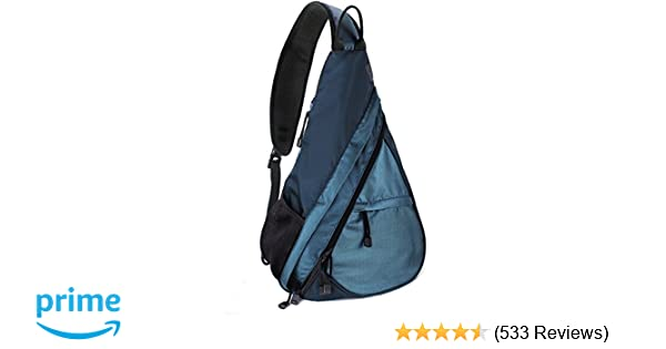 Amazon.com  Unigear Shoulder Chest Crossbody Sling Bag Pack Backpack for  Men Women Girls Boys (Blue)  Sports   Outdoors 6ec4494b397d7