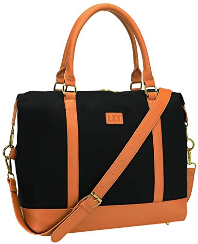 Travel Bag Weekender Overnight Bag Canvas Carry-on Shoulder Duffel Tote Bag For Women and ladies