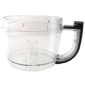 Kitchenaid Kfp72wbob 12 Cup Food Processor Work Bowl Onyx Black Food Processor