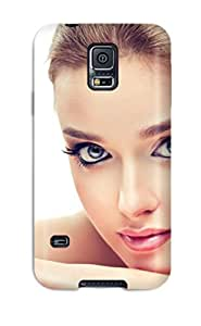 Snap-on Face Case Cover Skin Compatible With Galaxy S5