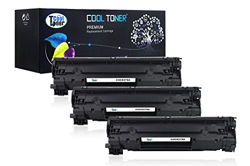 Cool Toner Compatible Toner Cartridge Replacement for Canon 128 3500B001 (Black, 3-Pack)