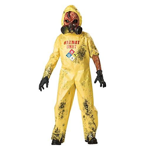 Hazmat Hazard Costume - Large (Scary Zombie Costumes Ideas)