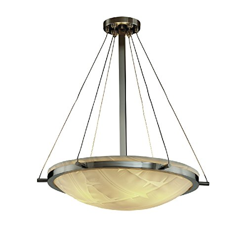(Justice Design Group Lighting PNA-9692-35-BANL-NCKL-LED5-5000 Porcelina-Ring 27