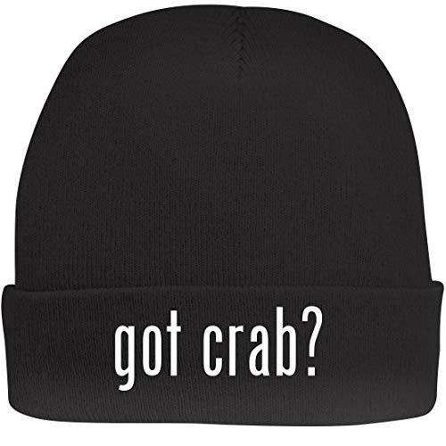 (Shirt Me Up got Crab? - A Nice Beanie Cap, Black, OSFA)