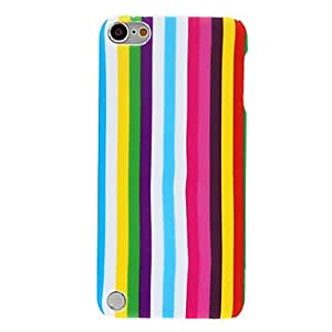 Colored Vertical Bars Pattern Hard Case for iPod Touch 5