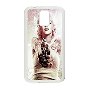 Custom Colorful Case for SamSung Galaxy S5 I9600, Marilyn Monroe Cover Case - HL-536996