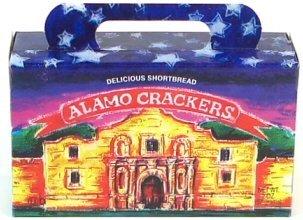 Texas Alamo Crackers, Texas Souvenir and Western Theme Party Favor (Western Gourmet Foods)