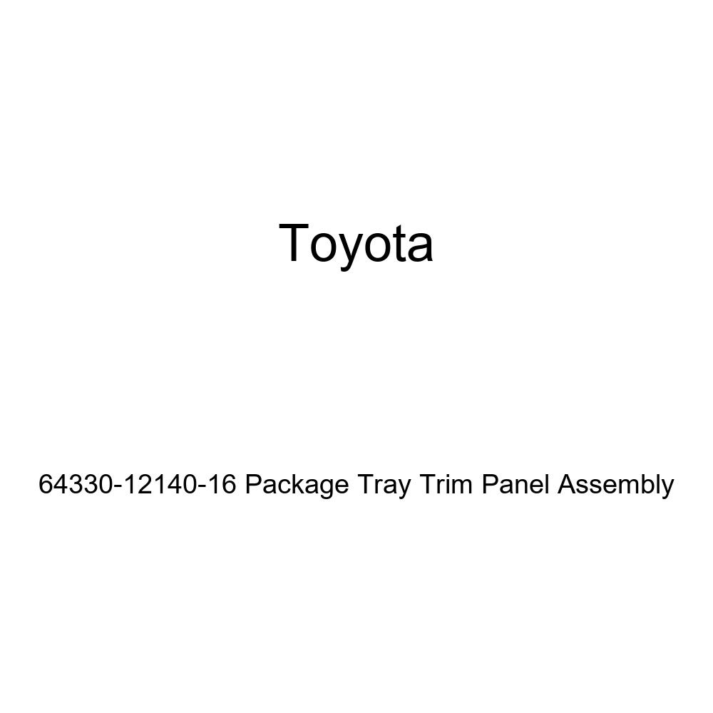 Toyota Genuine 64330-12140-16 Package Tray Trim Panel Assembly