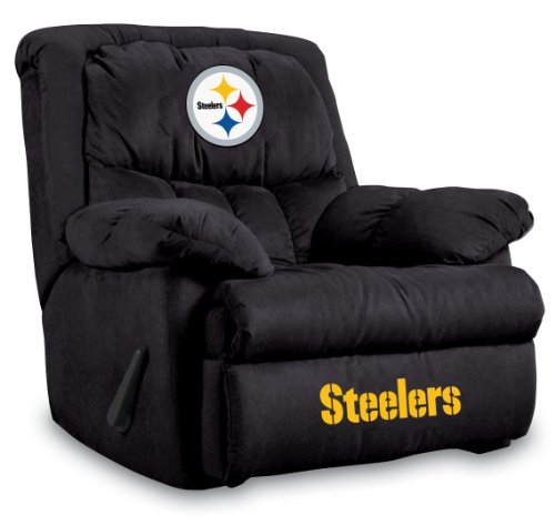 Imperial Officially Licensed NFL Furniture: Home Team Microfiber Rocker  Recliner, Pittsburgh Steelers