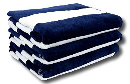 (Lara Cabana Beach Towel - Bath Sheet Size - Pool Spa Bath Towel - Extra Soft & Large (35