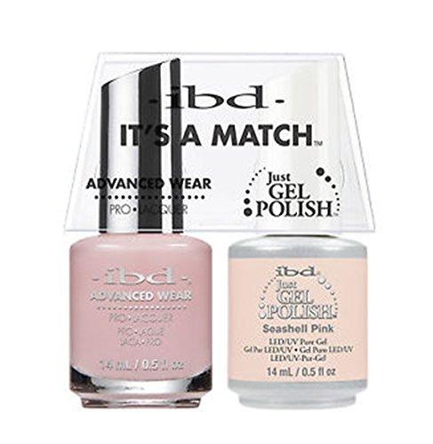 ibd Advanced Wear Color Duo Seashell Pink #477 UV Gel Color