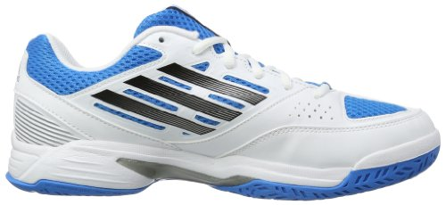 adidas Opticourt Team Light 2 - Zapatillas de voleibol de material sintético para hombre multicolor - Mehrfarbig (running white/solar blue s14/black)