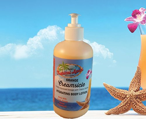 Ultra Hydrating Body Lotion - Orange Creamsicle scented made with fresh, Florida grown ingredients