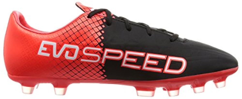 Puma Unisex Kids' Evospeed 4.5 AG Jr Football Boots, Rot (Red Blast-Puma White-Puma Black 01), 1 UK