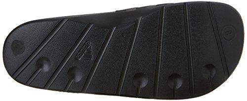 Adidas Men's Slide Sandal Duramo Black Black Rubber rr4txwd