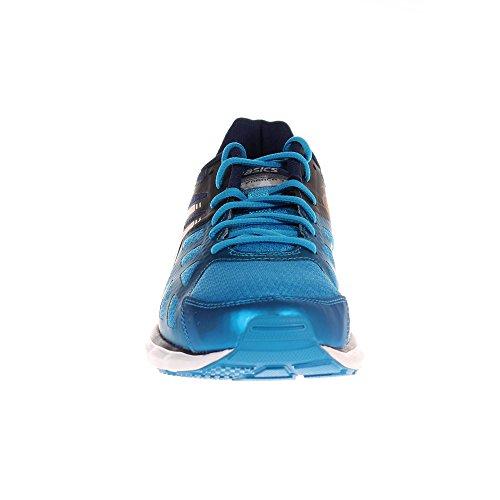 ASICS Gel Zaraca 3 Mens Cushioned Running Trainer Shoe - Blue / Orange