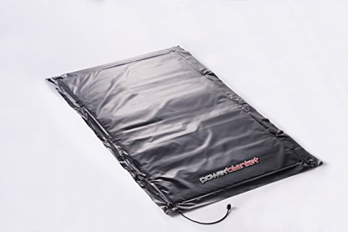 Powerblanket EH0509 Ground Thawing Blanket - 5' x 9' Heated Dimensions - 6' x 10' Finished Dimensions (20 amp plug)