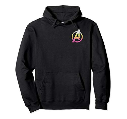 Marvel Avengers Distressed Classic Logo Graphic Hoodie