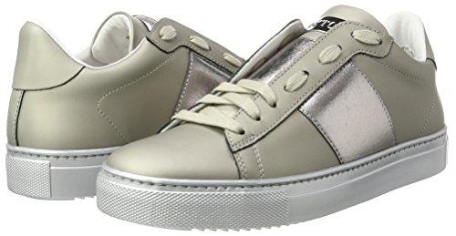 Low Sneakers cdf Women''s Stokton top Silver argento HznafqS