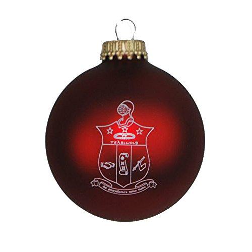 Greekgear Kappa Alpha Psi Glass Christmas Ornament