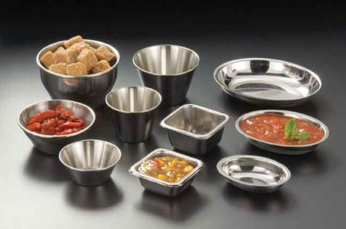 American Metalcraft B34 Stainless Steel Sauce Cup, 4-Ounce