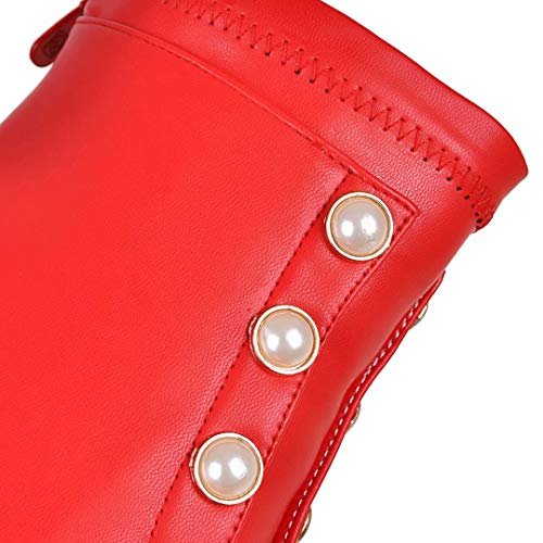 AIYOUMEI Red Women's Classic Boot AIYOUMEI Classic Women's Red AIYOUMEI Boot rzqZ1wr