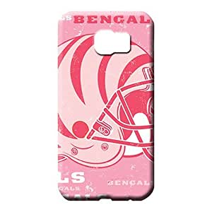 samsung galaxy s6 Heavy-duty forever Scratch-proof Protection Cases Covers phone case cover cincinnati bengals nfl football